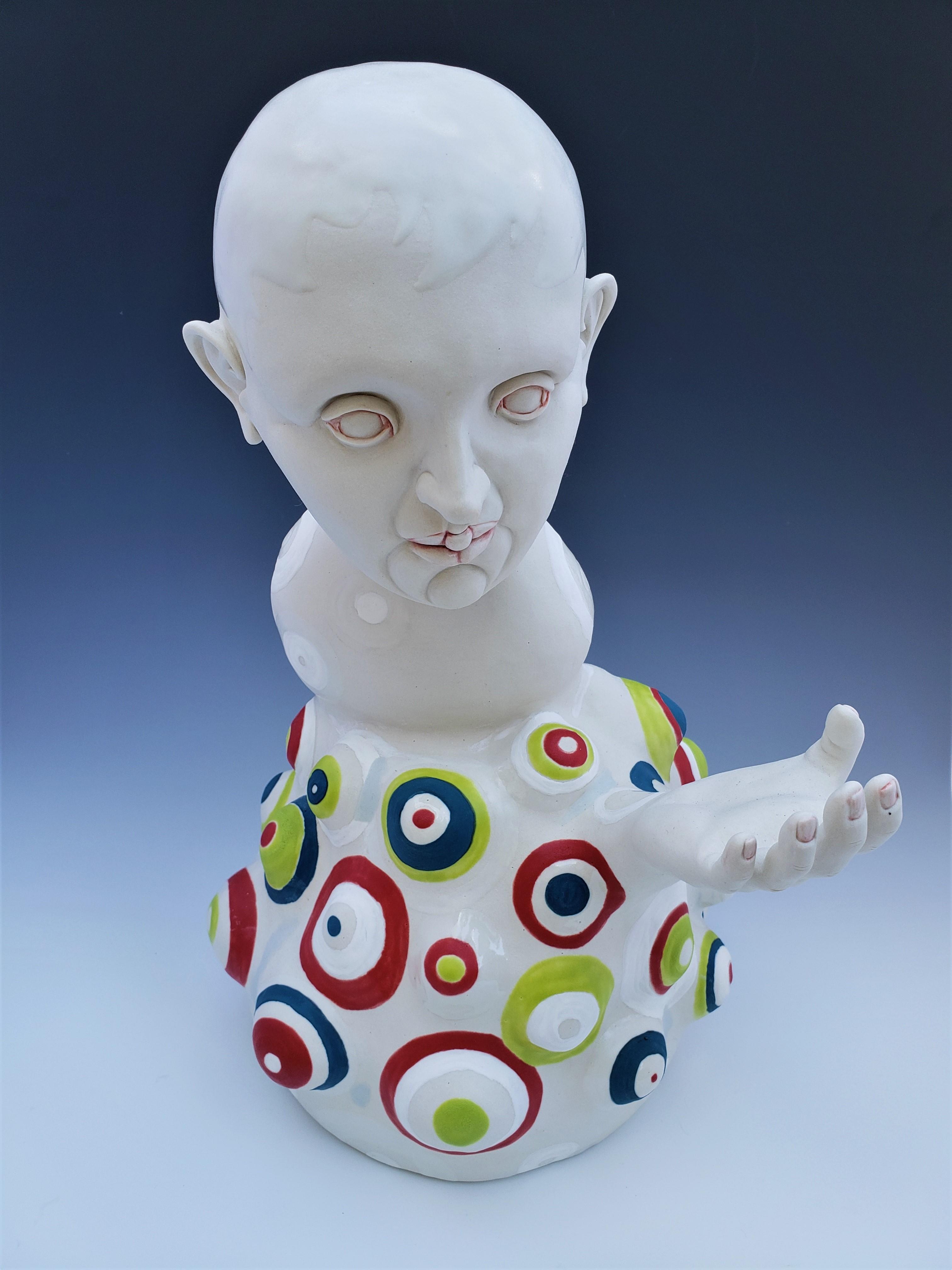 Yukhno 4, Who Today, 2018, Ceramics, 16''x 10''x 11''