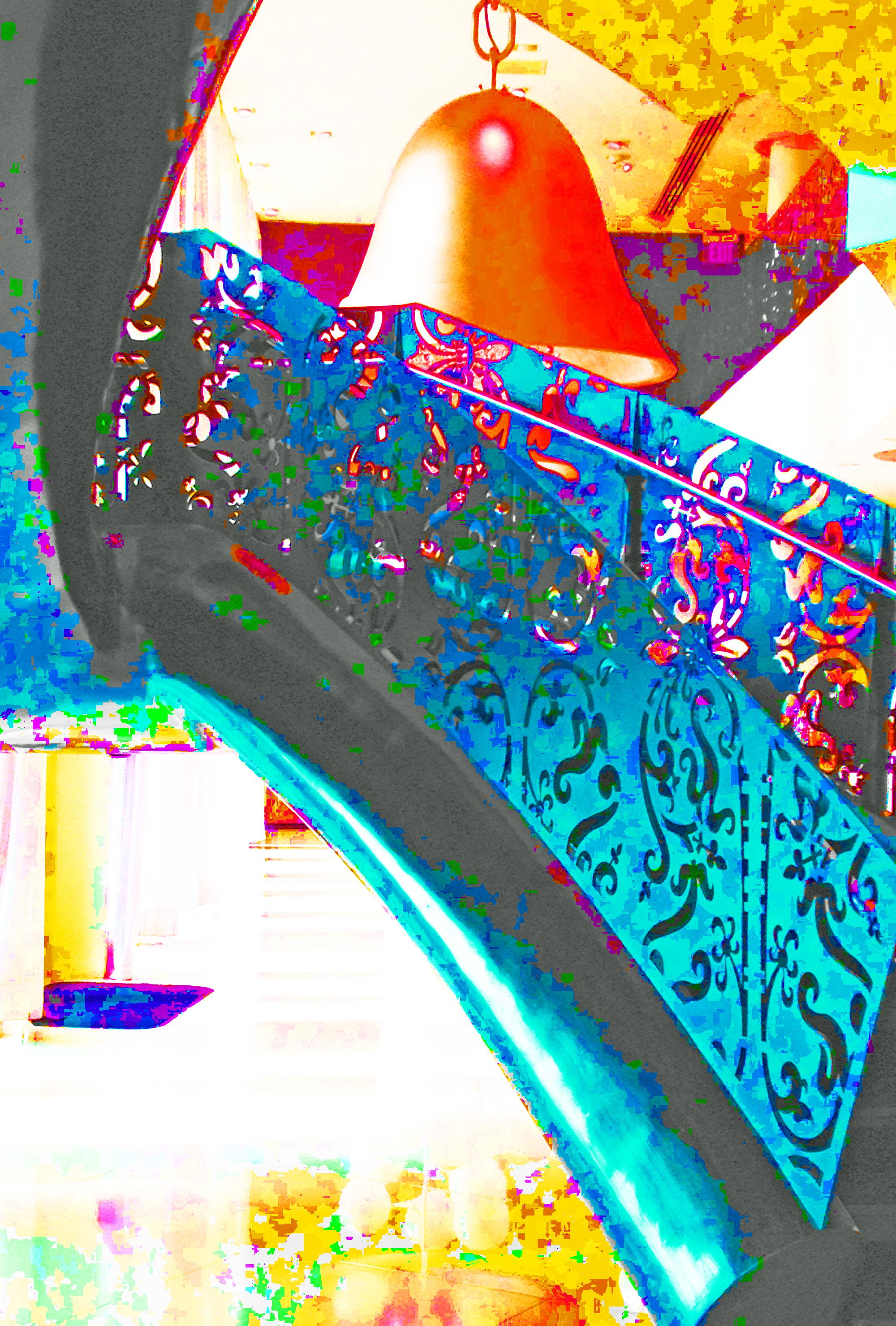 mondrian stairs